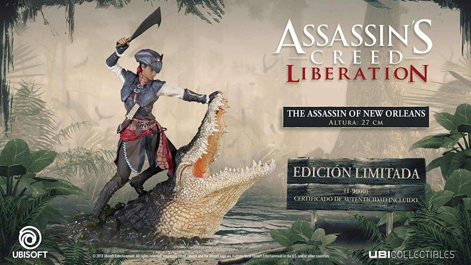 Figurine d'Aveline de Assassin's Creed Liberation