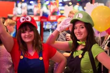 Cosplay Mario et Luigi Gamescom 2018
