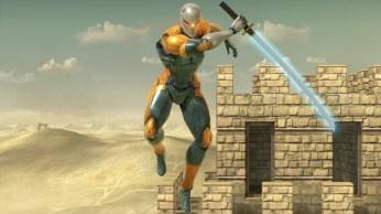 Super Smash Bros Ultimate Grey Fox
