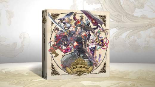 Le superbe coffret de Vinyle de SoulCalibur !