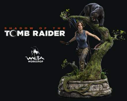 La Figurine Lara Croft Shadow of The Tomb Raider par Weta Workshop