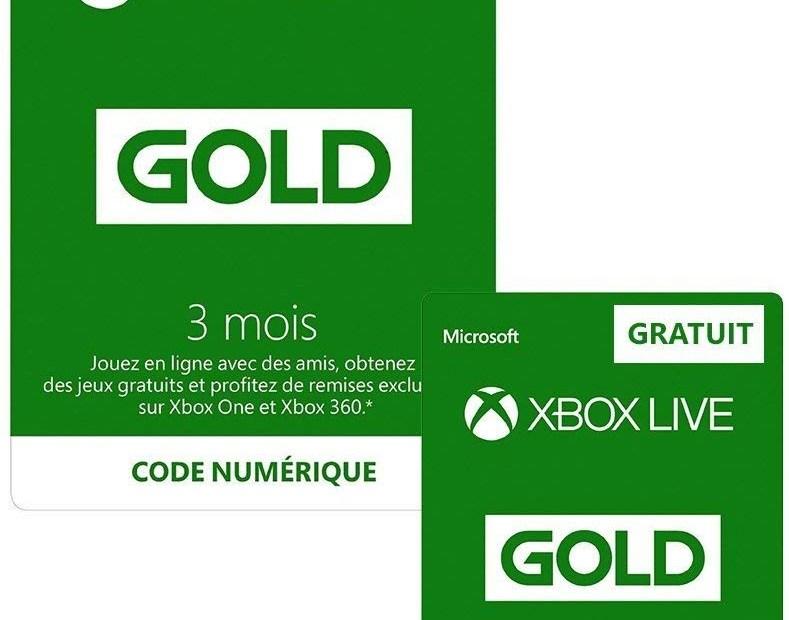 Une promotion sur le Xbox Live Gold !