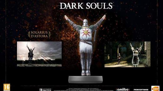 L'Amiibo Dark Souls compatible Nintendo Switch !