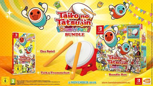 Précommandes de Taiko No Tatsujin + son Tatacon pour Nintendo Switch !