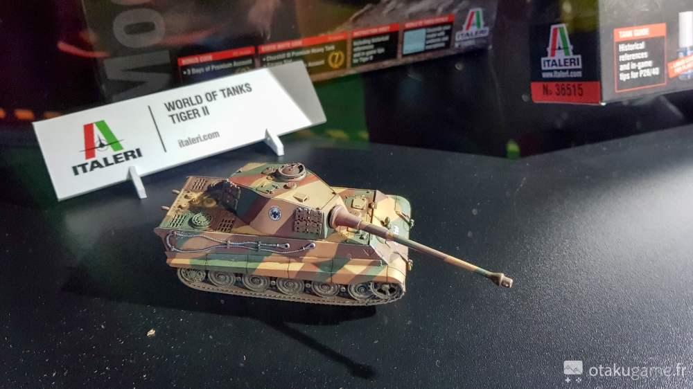 Un tank miniature issu de World of Tanks !