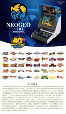 Jeux Neo Geo Mini
