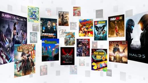 Le Xbox Game Pass donne accès à une incroyable bibliothèque de jeux Xbox One et Xbox 360 !