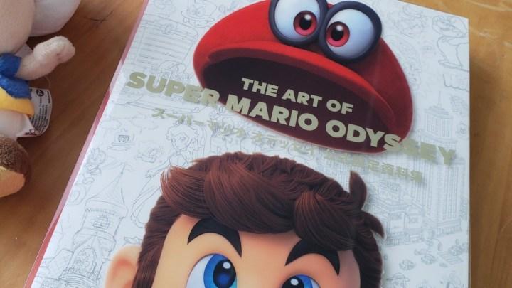 The Art of Super Mario Odyssey en import !