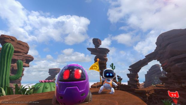 Les ennemis dans Astro Bot sont pleins de vie ^^ !