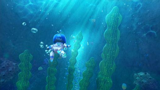 Ils faut impérativement faire un des niveau sous-marin avec un casque audio sur la tête... C'est merveilleux !