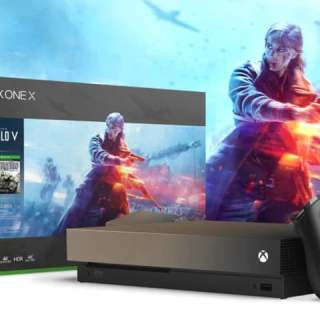 La Xbox One X Gold Rush avec Battlefield V pour 499€!