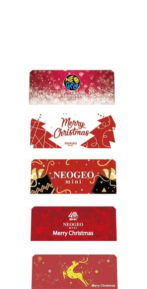 La Neo Geo Mini Christman Edition pour Noël 2018 !