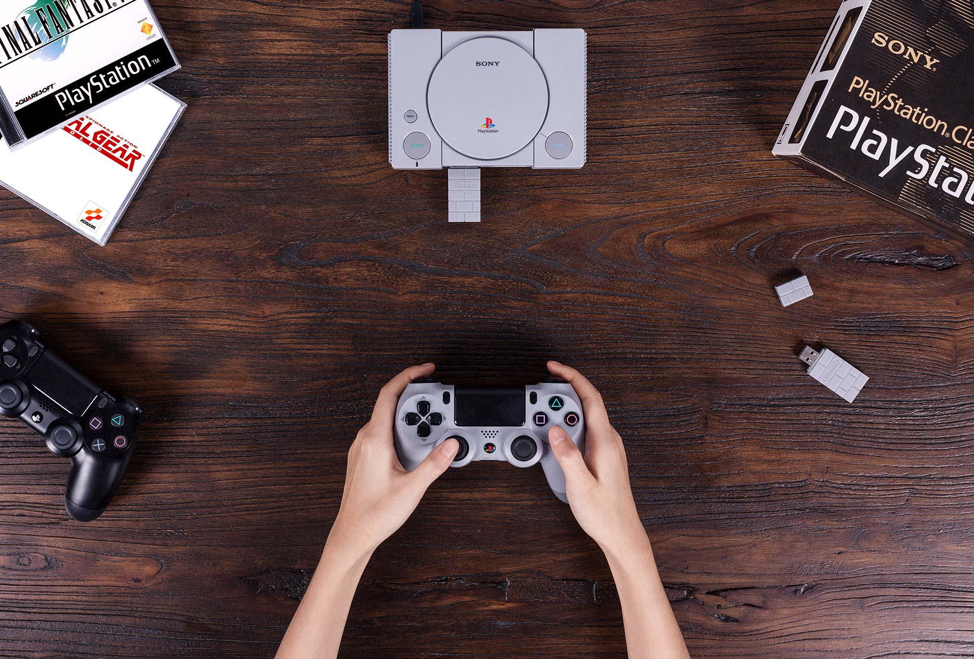8Bitdo USB Adaptateur sans fil pour Playstation Classic