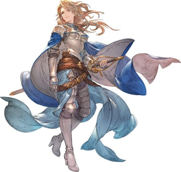 Artwork de Katalina de Granblue Fantasy Relink
