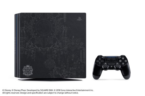 PS4 Pro édition collector Kingdom Hearts 3