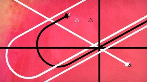 DERU est un jeu qui joue sur les perceptions visuelles.