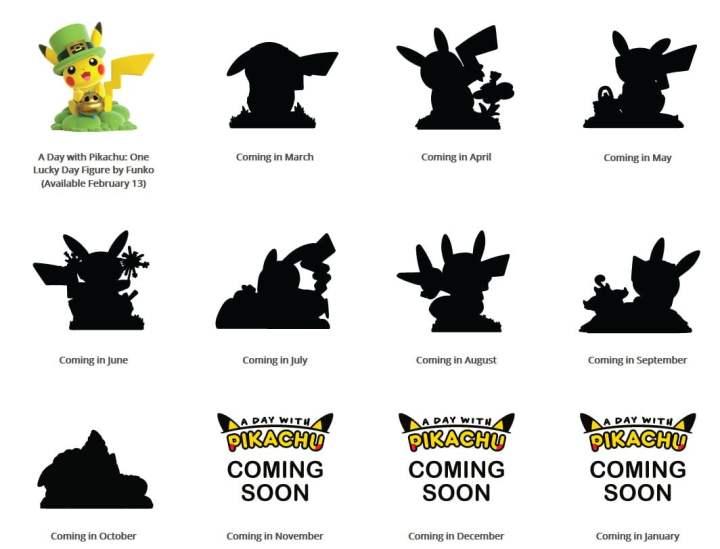Les 12 Pikachu Funko POP ont déjà été teasés !