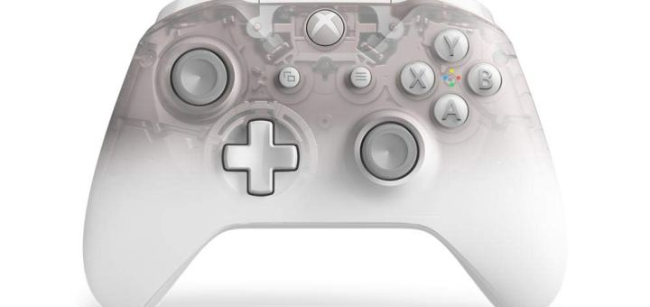 Manette Xbox One Phantom White