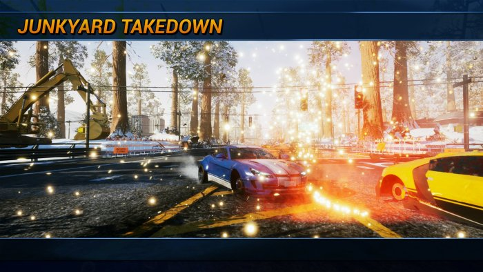 Enchaîner les Takedown.... Ok, ça reste jouissif !