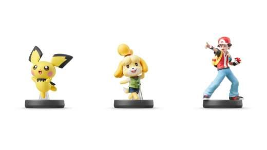 Les Amiibo Pichu, Marie et Entraineur Pokémon arrivent le 17 juillet prochain !