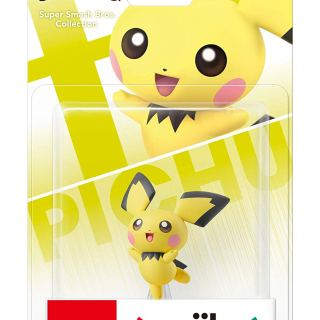 Amiibo Pichu Super Smash bros