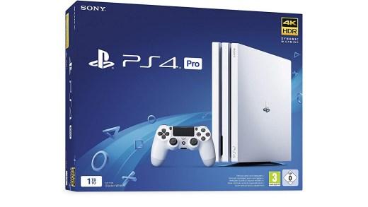 Une PS4 Pro blanche en chassis G en promotion ! Oui, oui, vous avez bien lu !