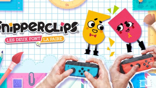 SnipperClips Plus est un jeu exclusif à la Nintendo Switch !