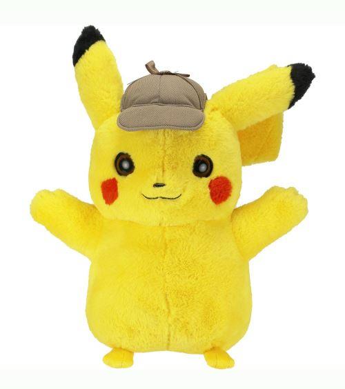 Peluche Détective Pikachu de la Fnac !