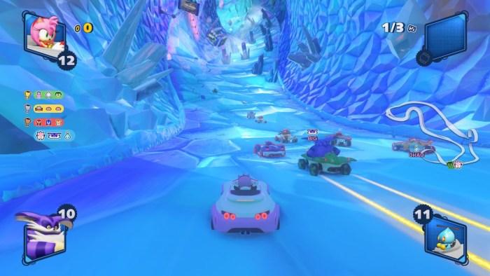 Les niveaux dans la glace sont sublimes ^^ !