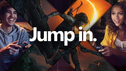 Jump in. Avec la Xbox One X et Lara Croft ^^ !
