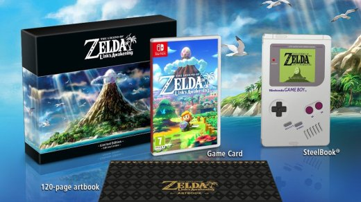 Edition collector de Link's Awakening sur Nintendo Switch !
