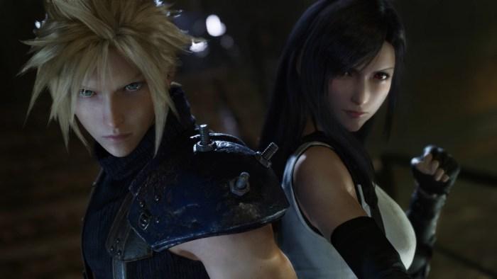 Final Fantasy VII Remake PS4 Tifa