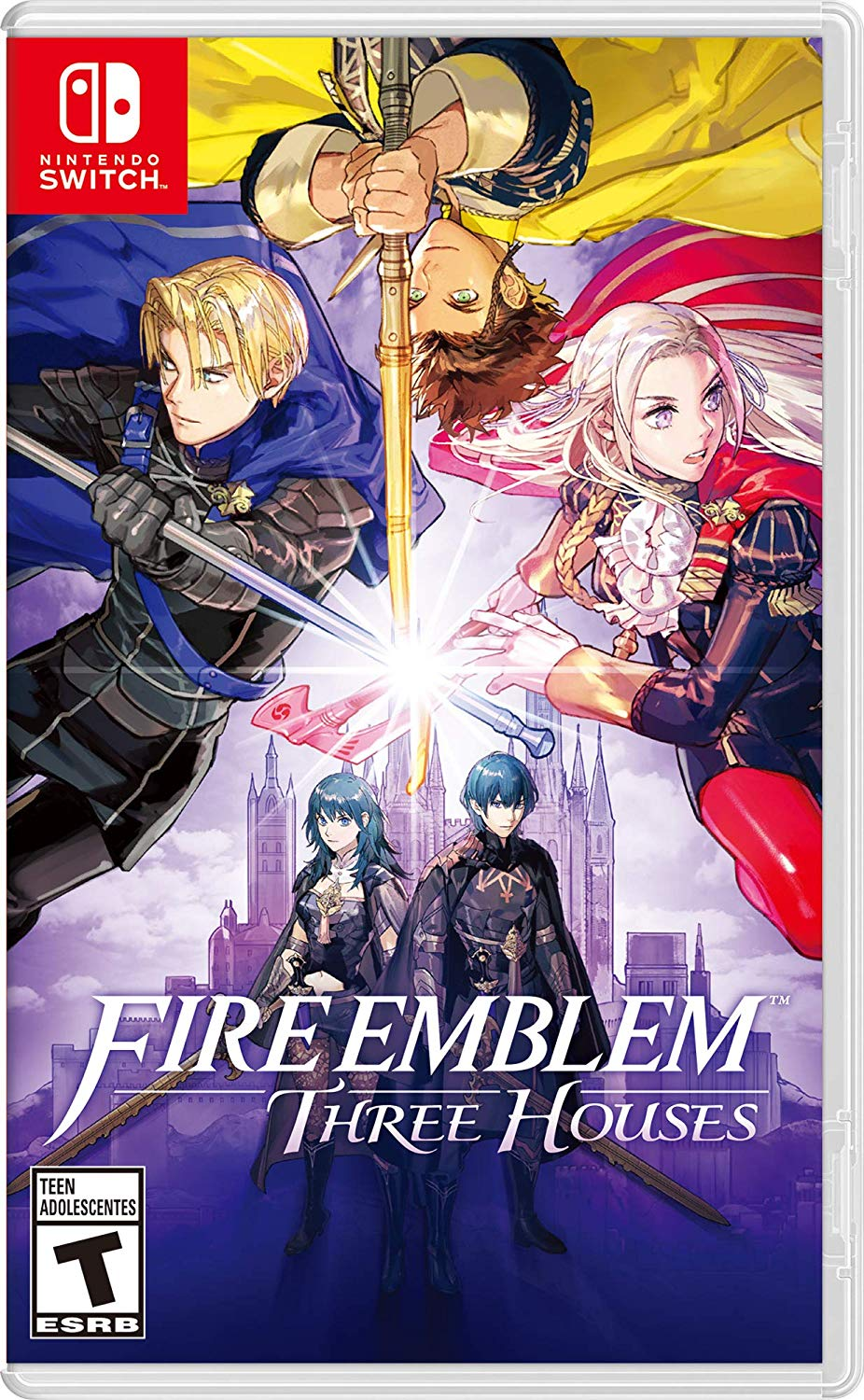 Jaquette Fire Emblem Three Houses