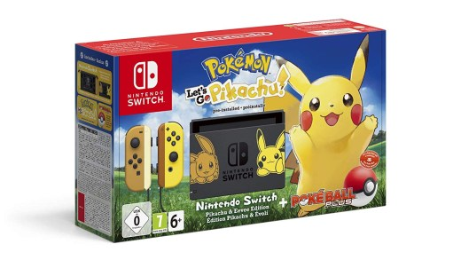 Nintendo Switch édition collector Pokémon