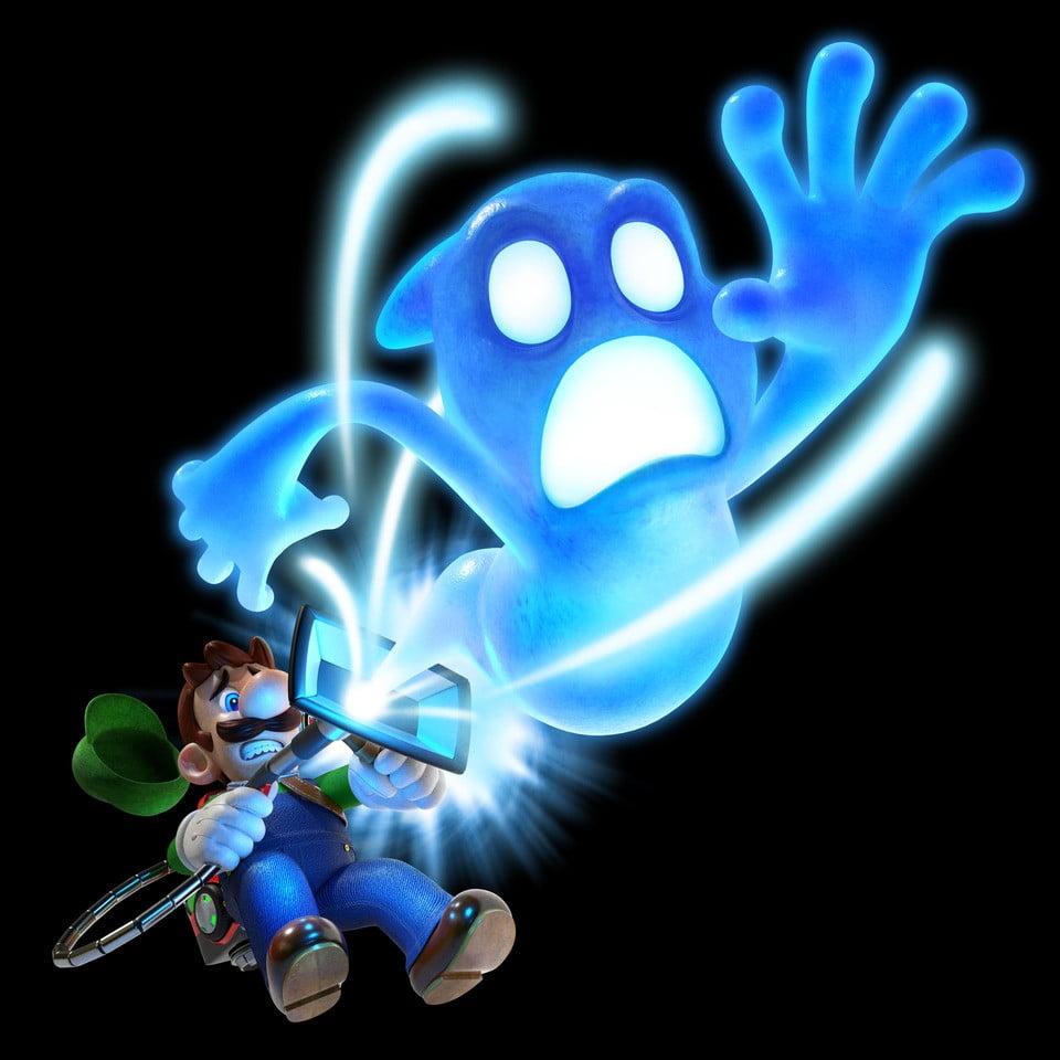 Artwork de Luigi Mansion 3