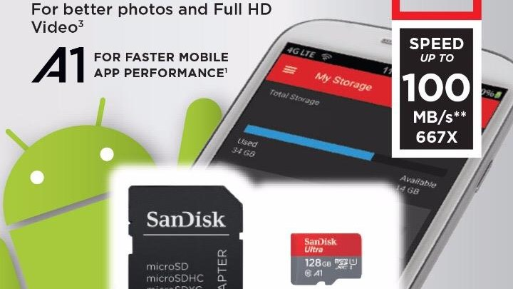 Sandisk SD Card Nintendo Switch