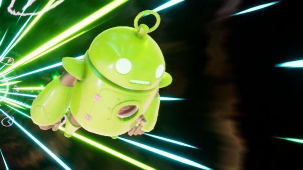 Mais ? C'est le robot d'Android ?!