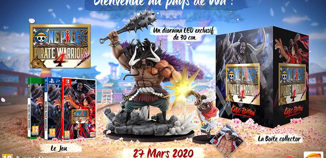 One Piece Pirate Warriors 4 Nintendo Switch