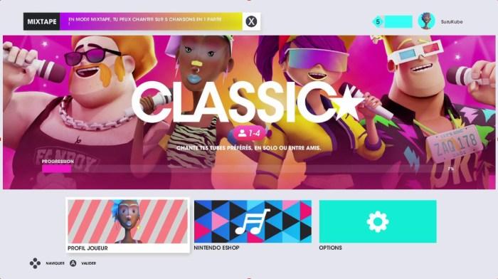 L'interface est très colorée ^^ !