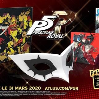 L'édition collector de Persona 5 Royal