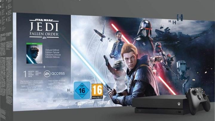 Promotion Xbox One X + Star Wars à 299 €