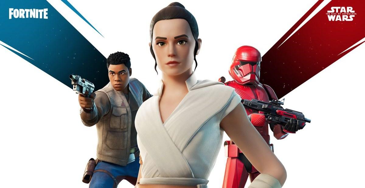L'évènement Star Wars dans Fortnite !