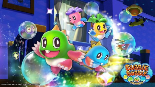 Bubble Bobble 4 Friends
