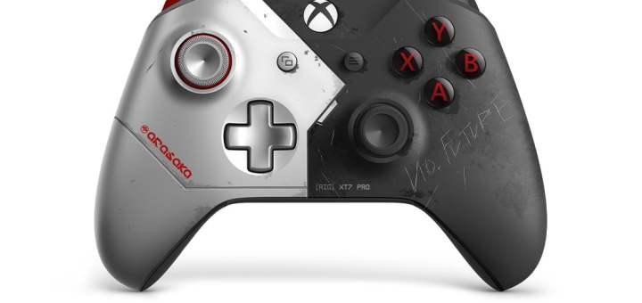 La manette Collector Cyberpunk 2077 pour Xbox One
