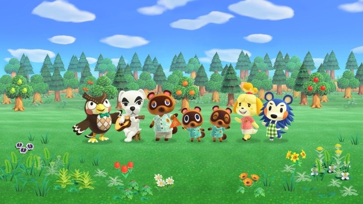 Animal Crossing New Horizons sur Nintendo Switch