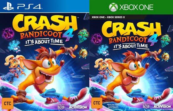 Crash Bandicoot 4 sur Xbox One et PS4 !
