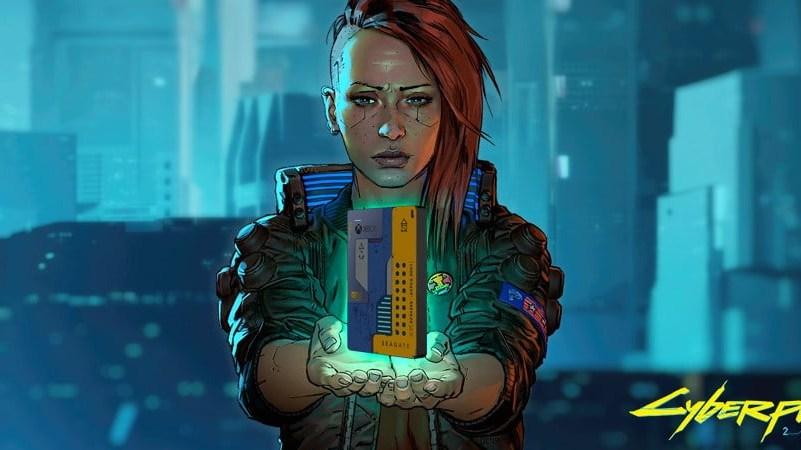 Disque dur Seagate Cyberpunk 2077
