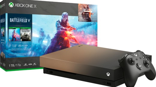 Xbox One X Gold Rush