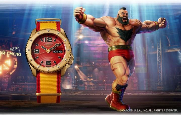 La montre Seiko Zangief