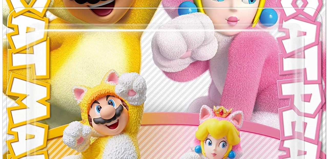Amiibo Mario et Peach Chat